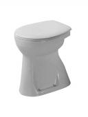 Duravit Duraplus - Stand-WC Sudan 505 mm 100 mm Abgang senkrecht pergamon