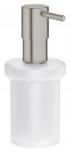 Grohe Essentials - Seifenspender für Halter / -Cube supersteel