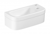 Grohe Euro Keramik - Handwaschbecken 369 x 179 mm weiß mit PureGuard