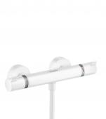 Hansgrohe Ecostat Comfort - Thermostat Brausenmischer Aufputz DN15 weiß matt