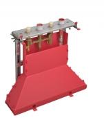 Hansgrohe Axor - Grundkörper 4-Loch Wannenarmatur für Fliesenrandmontage mit Secuflexbox
