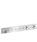 Hansgrohe Axor - Thermostatmodul Unterputz Select Fertigset 5 Verbraucher chrom