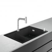 Hansgrohe C51 - Select 200 Spülencombi 635 F635-09 chrom