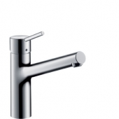 hansgrohe Talis S - Single lever kitchen mixer 170 with swivel spout chrome