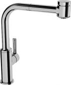 Hansa Hansaronda - Single lever sink mixer, ronda5523, lever operated laterally, ND, chrome