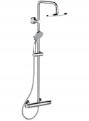 Ideal Standard Idealrain - Duschsystem mit Aufputz-Brausethermostat chrom