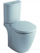 Ideal Standard Connect - Standtiefspül-WC-Kombination 660 x 360 mm weiß