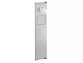 Keuco Plan - WC module 2 aluminium / chrome-plated