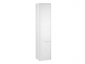 Keuco Royal 60 - Tall cabinet 32130, door hinge left white gloss