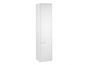 Keuco Royal 60 - Tall cabinet 32130, door hinge right white gloss