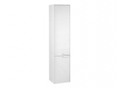 Keuco Royal 60 - Tall cabinet 32131, hinged on right 2-door, white gloss