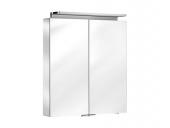 Keuco Royal L1 - Spiegelschrank mit Schubkasten silber-eloxiert 650 x 742 x 150 mm