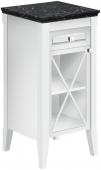 Villeroy & Boch Hommage - Seitenschrank 440 x 850 x 425 mm Anschlag rechts weiß alpin