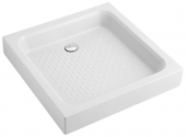 Villeroy & Boch O.novo - Shower tray rectangular 700x700 white with antislip