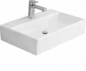 Villeroy & Boch Memento - Washbasin for Furniture 600x420mm with 1 tap hole with overflow white with CeramicPlus