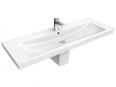 Villeroy & Boch Subway 2.0 - Washbasin for Furniture 1300x470 star white with CeramicPlus
