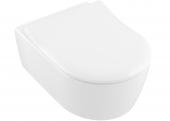 Villeroy & Boch Avento - Wand-Tiefspül-WC 530 x 370 mm mit CeramicPlus weiß WC