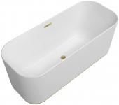 Villeroy & Boch Finion - Badewanne CoD Ventil Überlauf Emotion-Funktion gold white alpin