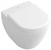 Villeroy & Boch Subway - WC-Sitz compact weiß alpin