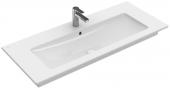 Villeroy & Boch Venticello - Schrankwaschtisch 1200 x 500 mm mit Überlauf stone white CeramicPlus
