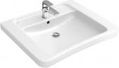 Villeroy & Boch Architectura - Waschtisch Vita 650 x 550 mm mit Überlauf weiß alpin AB C+