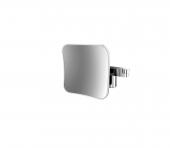 Emco Universal - LED-Rasier- und Kosmetikspiegel 2-armig 5-fach eckig 200x200 mm