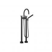 Dornbracht Tara - Wannen-Zweilochbatterie schwarz matt