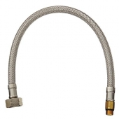 Grohe - Druckschlauch 46254 flexibel M10 x 1 x M15 x 1 350 mm chrom