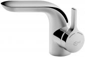 Ideal Standard Melange - Einhebel-Waschtischarmatur mit flexiblen Anschlussschläuchen chrom