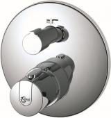 Ideal Standard CeraTherm 100 Neu - Façade pour mitigeur thermostatique bain avec inverseur chrome