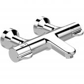 Ideal Standard CeraPlus 2 - Badethermostat Ausladung 194 - 211 mm absperrbare S-Anschlüsse chrom