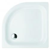 Bette BetteCorner ohne Schürze - Quart de cercle receveur de douche blanc - 80 x 80