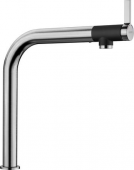 Blanco Vonda - Küchenarmatur metallische Oberfläche Hochdruck Edelstahl gebürstet