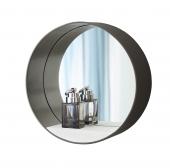 Burgbad Diva 2.0 - Spiegel 300 mm quarz metallic mit Ablage weiß matt