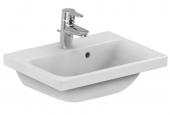 Ideal Standard Connect Space - Lavabo pour meuble 500x380mm avec 1 trou de robinetterie avec trop-plein blanc avec IdealPlus