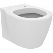Ideal Standard Connect Space - Wand-WC kompakt verdeckte Befestigung 360 x 480 x 340 mm weiß