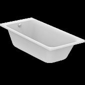 Ideal Standard Tonic II - Körperformwanne mit Ablauf mit Füller 1800 x 800 x 490 mm weiß