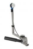 Geberit Uniflex - Baignoire avec vidange et trop-plein et trou de valve Ø52 avec activation excentrique