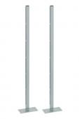 Geberit Kombifix - Stand avec des plaques de pied