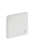 Geberit - Abdeckomplett blanc 85 x 85 mm