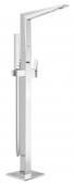 Grohe Allure Brilliant - Einhand-Wannenbatterie Fertigmontageset Bodenmontage chrom
