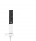 Hansgrohe Rainfinity - Brausenset 100 1jet Porter weiß matt mit 1600 mm Brauseschlauch