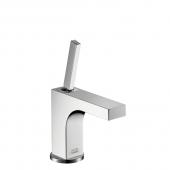 Hansgrohe Axor Citterio - Einhebel-Waschtischmischer 115 mit Zugstangen-Ablaufgarnitur für Handwaschbecken