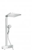 Hansgrohe Raindance E 300 - Showerpipe 1jet 350 ShowerTablet EcoSmart 9 l / min chrom