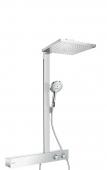 Hansgrohe Raindance E 300 - Showerpipe 1jet 600 ShowerTablet EcoSmart 9 l / min chrom