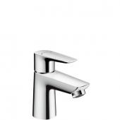 Hansgrohe Talis E - Waschtischmischer 80 chrom mit Push-Open Ablaufgarnitur