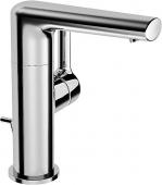 HANSA HansaRonda - Mitigeur monocommande lavabo taille M avec garniture de vidage chrome