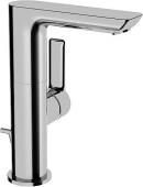 HANSA HansaLigna - Mitigeur monocommande lavabo taille M avec garniture de vidage chrome