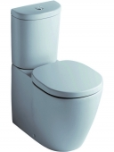 Ideal Standard Connect - Standtiefspül-WC-Kombi 660 x 360 mm weiß