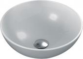 Ideal Standard Strada O - Lavabo à poser pour meuble 410x410mm sans trous de robinetterie sans trop-plein  blanc avec IdealPlus